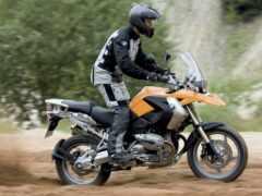 мотоцикл, adventure, всадник