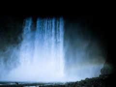 водопад, iceland, природа