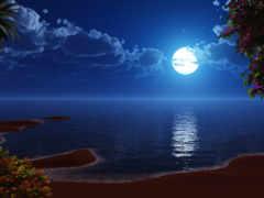 луна, tropics, лунная