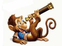 обезьяна, год, календарь