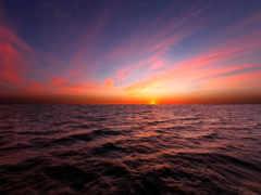 закат, красивые, море Фон № 174055 разрешение 1920x1200