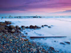 берег, море, камни