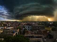 облако, погода, циклон