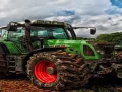 трактор, стальной