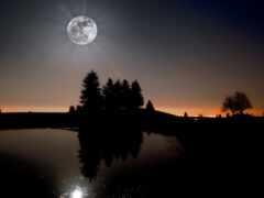 луна, moonlight, oir