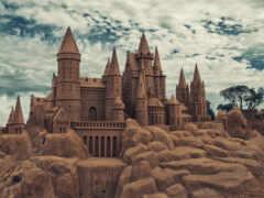 castle, песок, pic
