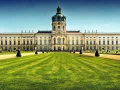 дворец, charlottenburg, шарлоттенбург