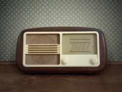 радио, ретро, старый