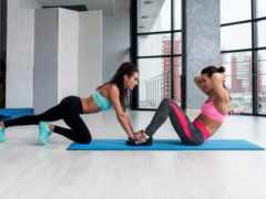 фитнес, sporty, женщина
