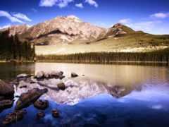 природа, рай, горы