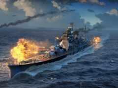 корабль, военный, миро