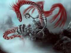 дракон, chart, демон