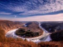 германия, река, саар