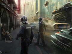 cyberpunk, миро, futurism
