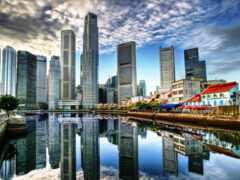 singapore, rook, небоскрёб