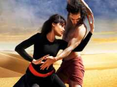 танцовщица, пустыня, сниматься