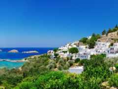 greek, lindos, ночей