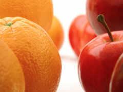 apple, pintar, fruta