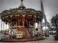carrousel, eiffel, башня