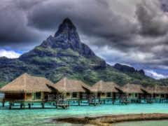 bora, остров, острова