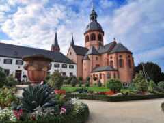 seligenstadt, church, hesse