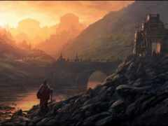 река, castle, арта