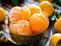 tangerine, плод, сколько