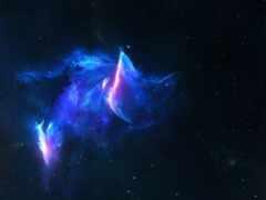 кот, galaxy, космос