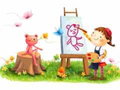 ребенок, творчество, креатив