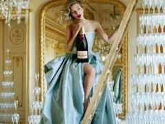 скарлетт, йоханссон, шампанского