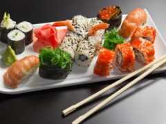 dry, суши, роллы