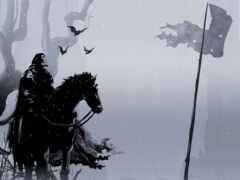 флаг, fantasy, смерть