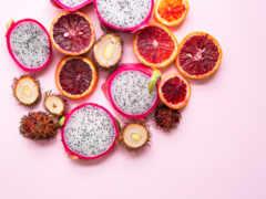 buah, нага, еда