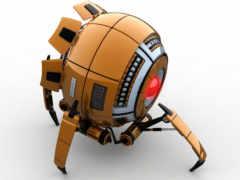 robot, kartinka, модель