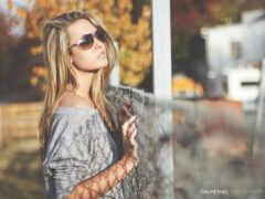 sunglasses, женщина, blonde