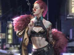 cyberpunk, характер, fantasy