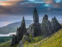 rock, шотландия, камень