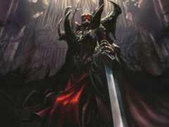 демон, рыцарь, красивый