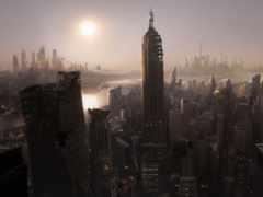 разруха, город, храм