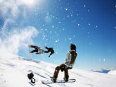 snowboard, extreme