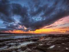 закат, небо, clouds Фон № 170266 разрешение 1920x1200
