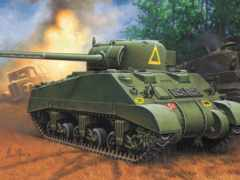sherman, firefly, танк