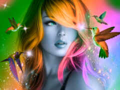 artwork, see, couleur