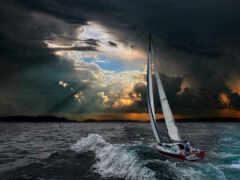 история, яхта, тихий