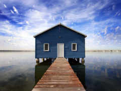 waters, dock