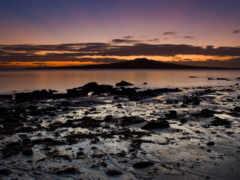 красивый, море, берег