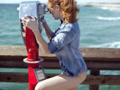redhead, женщина, art