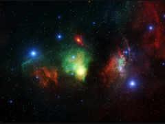 фон, nebula, бесконечность