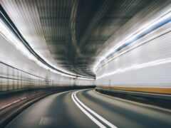 скорость, туннель, фон