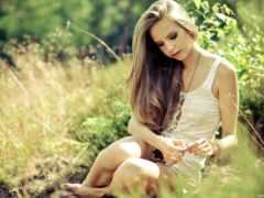 девушек, красавица, summer